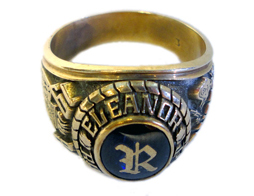 Heavy Fraternity Ring